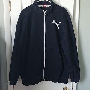 Puma full zip sweatshirt
